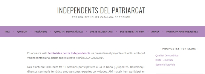 independents del patriarcat
